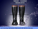 100% NATURE RUBBER MINING BOOTS WITH STEEL TOE