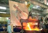 Hydraulic Tilting Induction Melting Furnace Melting Steel