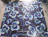 Flower Pattern Glass Mosaic Pattern Wall Tile (HMP719)