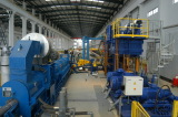 Press extrusion line