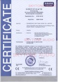The Certification of Amplifier