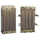 Shut-Off Preform Mould With Hot Runner