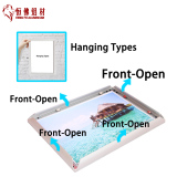 A5 aluminum picture/photo frame on sale