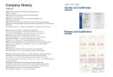 Company History & Certificates