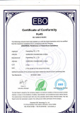 Certificate of PTFE