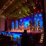 Rental stage display