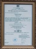 KEFA CE Certificate