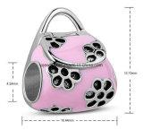 Elegant and Lovely Pink Handbag Bead