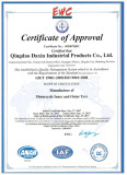 Motorcycle Tyre ISO Certificate 1