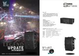V1 double 10inch line array speaker