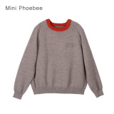 100% Wool Knitting Crochet Christmas Sweater Baby Clothes