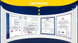 CE and ISO Quality Certificates