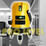 Self-Leveling 2V1H1D Green Laser Level (EK-268PG)