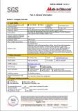 SGS Certificate 3-9
