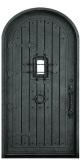 wrought iron cellar door