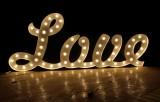 Fabulous Vintage Style Decoration Bulb Letters