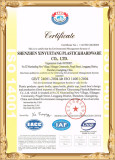ISO 14001: 2004 Certificate
