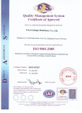 FACTORY ISO CERTIFICATION