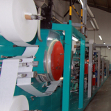 production line for sanitary pad