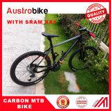 Full carbon MTB bike with SRAM GROUPSET