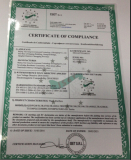 CE Certificate of Water Purifier
