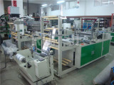 RFQD heat sealing and cutting bag making machine with EPC
