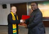 Ghana delegation visited XCMG