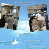 Customer Vist Volume to Chemshun Ceramics Factory