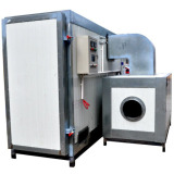 LPG tank powder curing oven powder coating oven