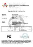FCC Certificate_Erfid-08C