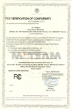 IP Camera FCC certificate