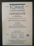 ISO14001:2004 STANDARD CERTIFICATE