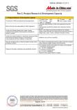 SGS Certification 5
