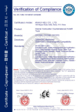 CE Certification for Internal combustion counterbalanced forklift truck model CPCD50