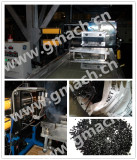 Double piston continuous screen changer applied for ABS recycling granulator