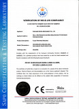 CE Certificate for Flexo Printing Machine