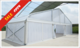 15M Clear Curved Tent