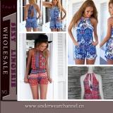 New Fashion Clothes Women Plus Size Jumpsuit Romper