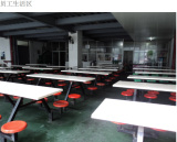 dinner hall in our factory