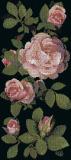 Art Mosaic Pattern-Springrose Nero