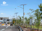 10M 80W SOLAR STREET LIGHT- Mexico highway, September, 2013