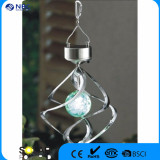 solar wind spinner wind chime