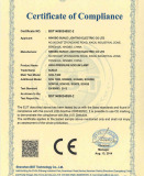 CE certificate of HPS lamp