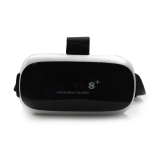 Private mode virtual reality 3D glasses