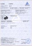 Psw518sf, Mf, Lf GS Certificates