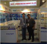 guo with customers of ndfeb magnets