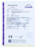 CE Certificate of Headphone