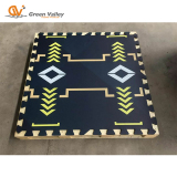 Printed Rubber Mat for Gym