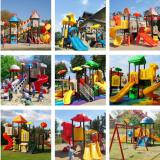 display of outdoor playground
