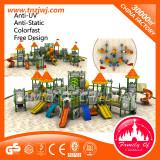 luxurious plastic playground equipment outdoor playground for kid